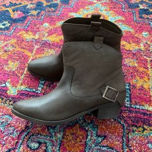 Joie Leather Ankle Boots 8.5